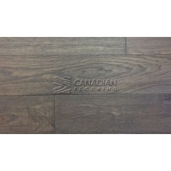 6.0 x 1/2 Engineered White Oak BRAND SURFACES Click, Midtown brown